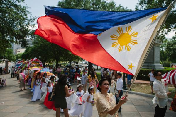 The Austin Filipino-American Association sponsored a rendition of the Flores de Mayo celebration in front of the Texas State Capitol on May 10. The celebration includes queens, escorts, little princesses and arch bearers, all in honor of the Virgin Mary.