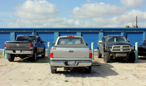 Ryan Peck says his repo business has seen an uptick in truck repossessions in the past few months.