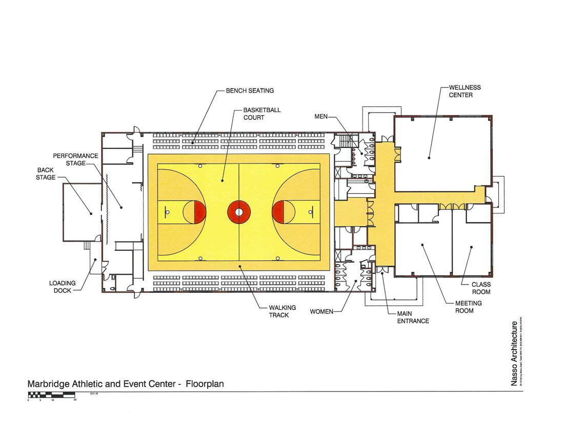 Charity for intellectually disabled needs money to build for Basketball gym floor plan