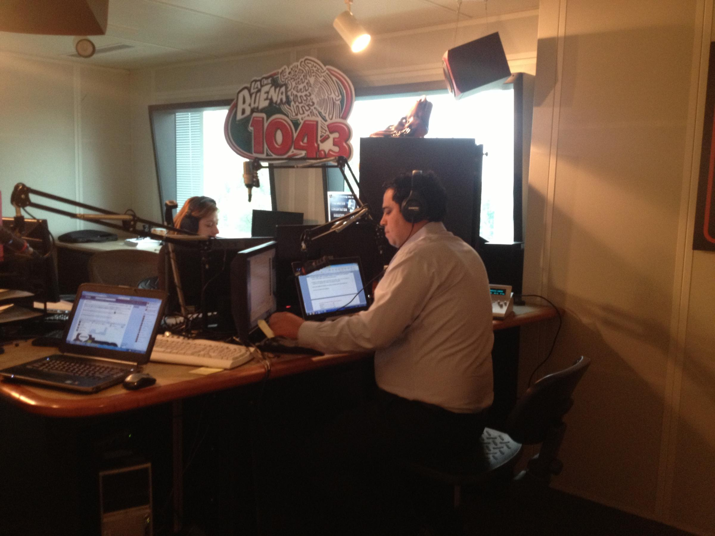 Aisd Spokesman Alex Sanchez Every Sunday He Hosts Educaaustin A Radio Show Aimed At Hispanic Pas In The District