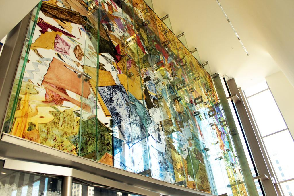 Photos the three a half ton stained glass 39 austin wall - Interior design jobs in austin tx ...