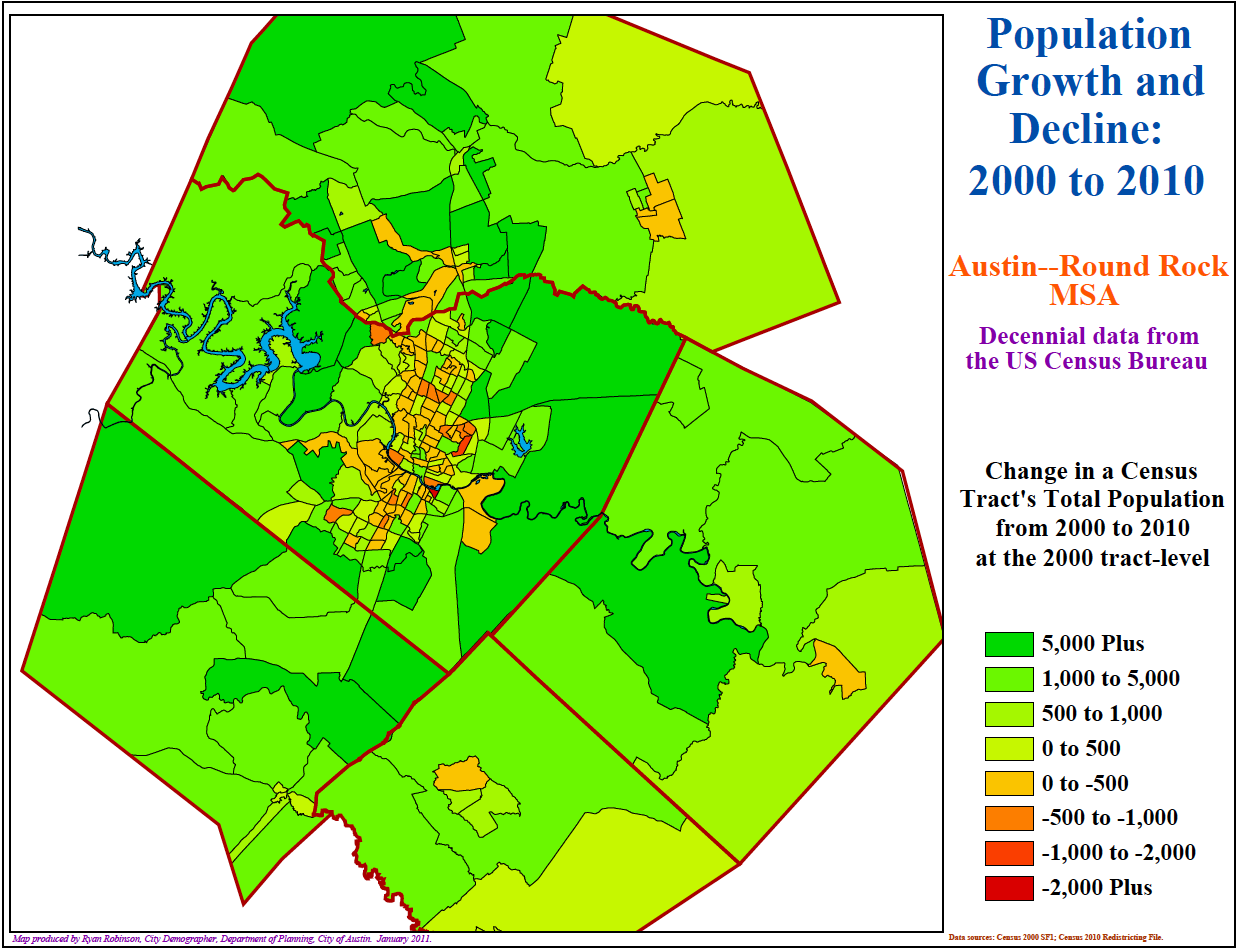 City Demographer Sees Racial Political Shifts In Austin Kut