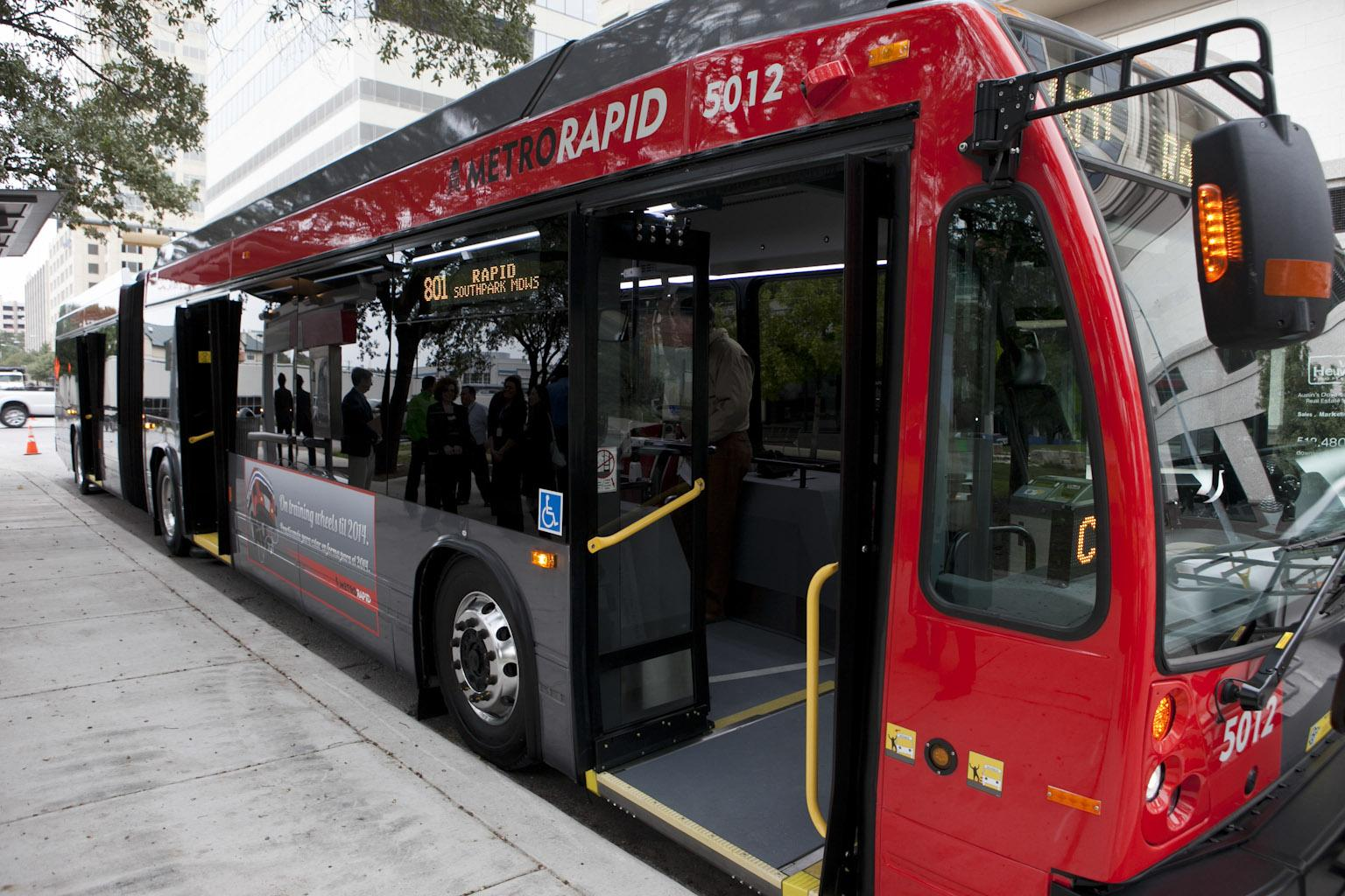 Blocking One Of Austin S New Bus Lanes Could Cost You 500