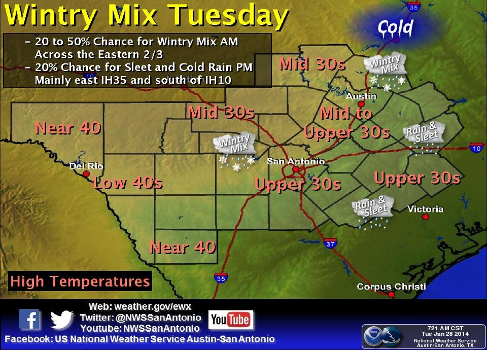 Delays & Closures Mount as Winter Weather Tangles Austin Traffic ...