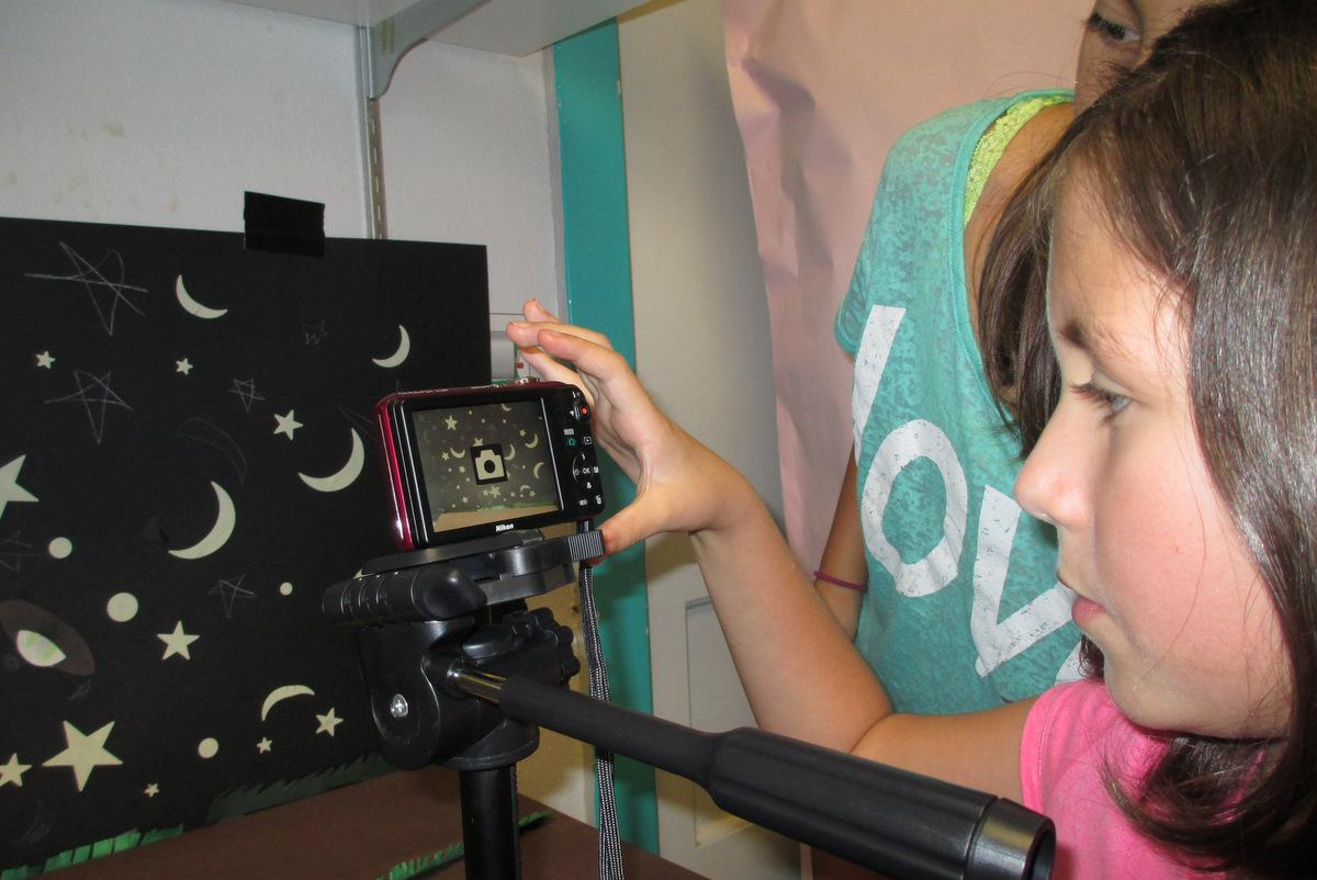 Uncategorized How To Make A Movie For Kids austin kids making claymation movies teach us how to make one too gabriella meshako and chiara morel take pictures of their clay characters