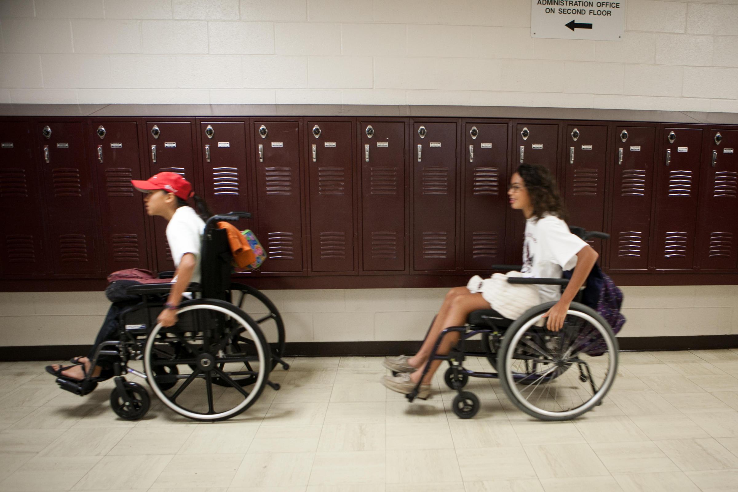 my brief time in a wheelchair essay