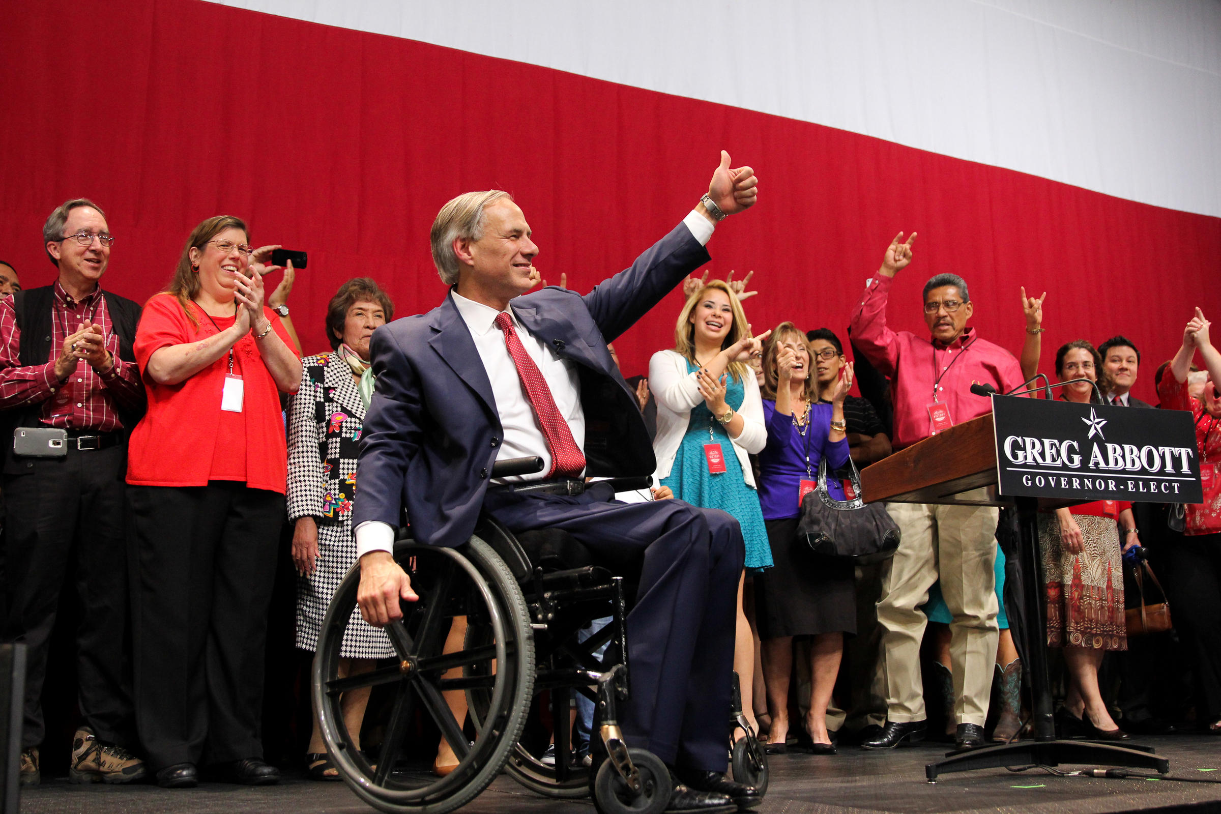 His fellow republicans they swept statewide offices on election day