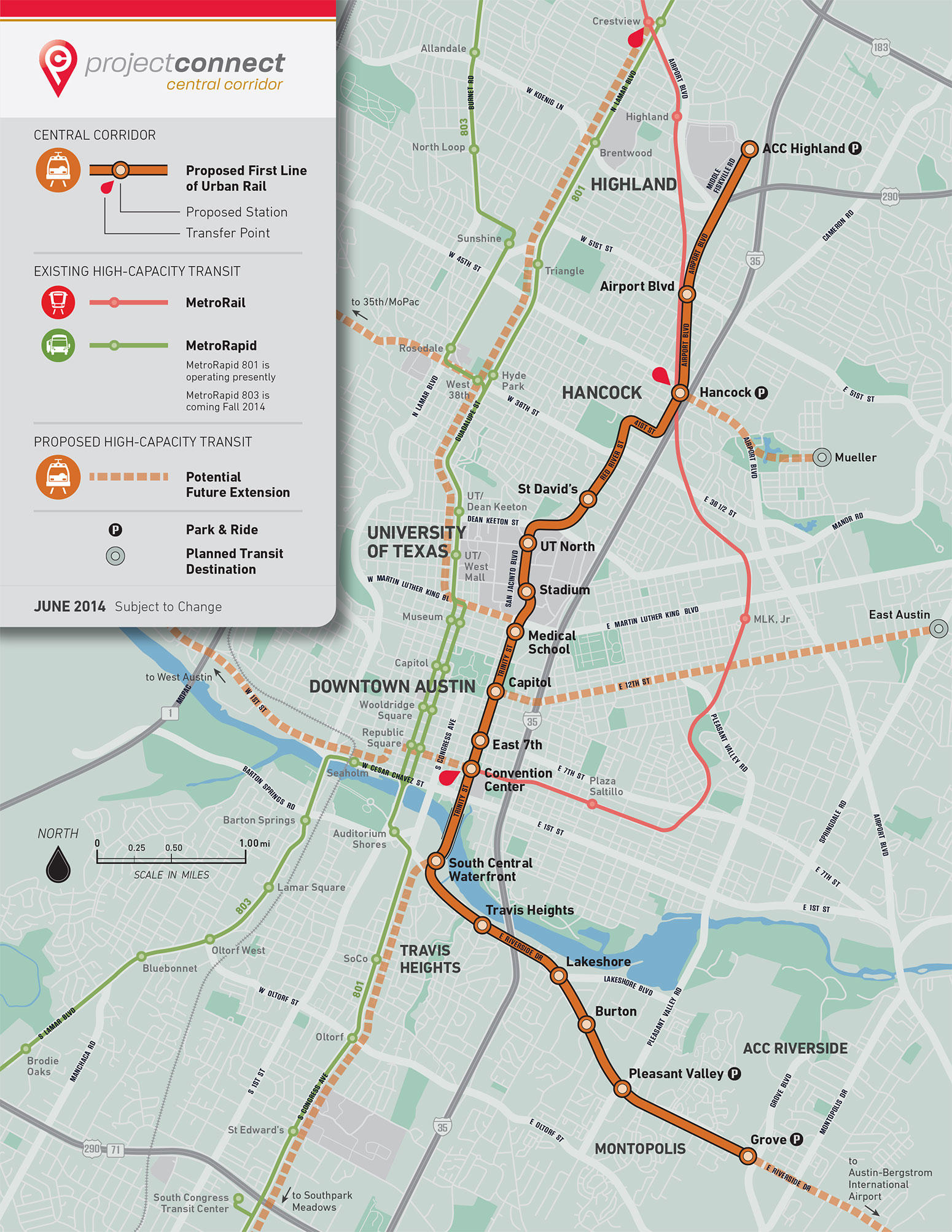 Audio Explainer Austin39s BillionDollar Rail And Roads