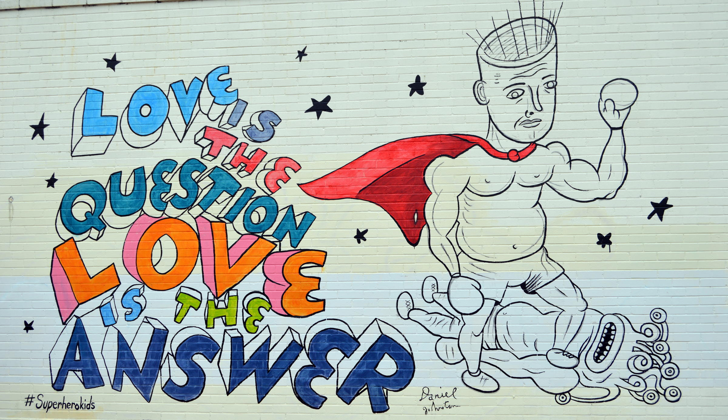 here 39 s a look at daniel johnston 39 s newest austin mural kut
