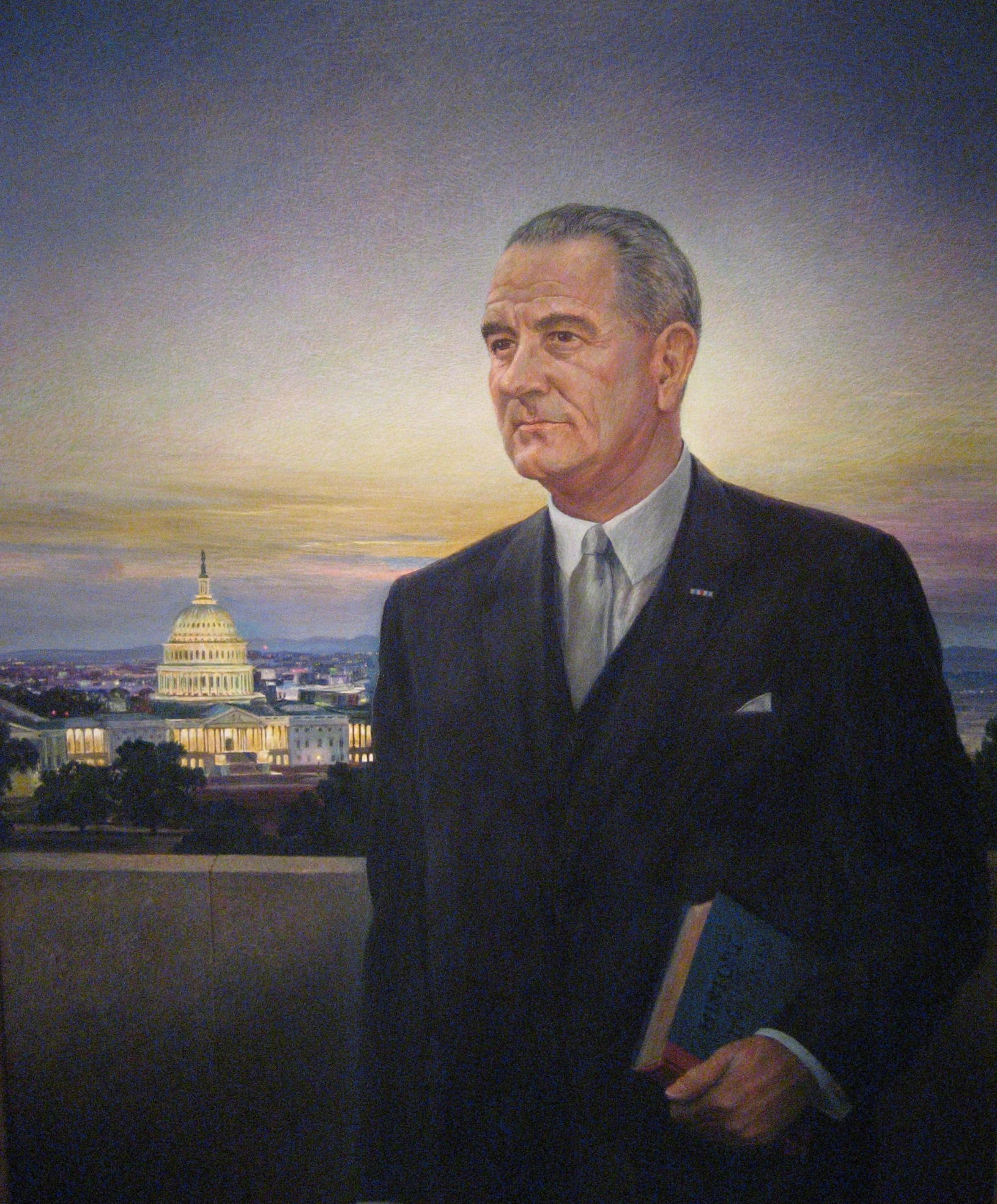 lbjs office president. LBJ Hated Peter Hurd\u0027s Depiction Of Him. Upon Seeing The Image, President Called It \ Lbjs Office