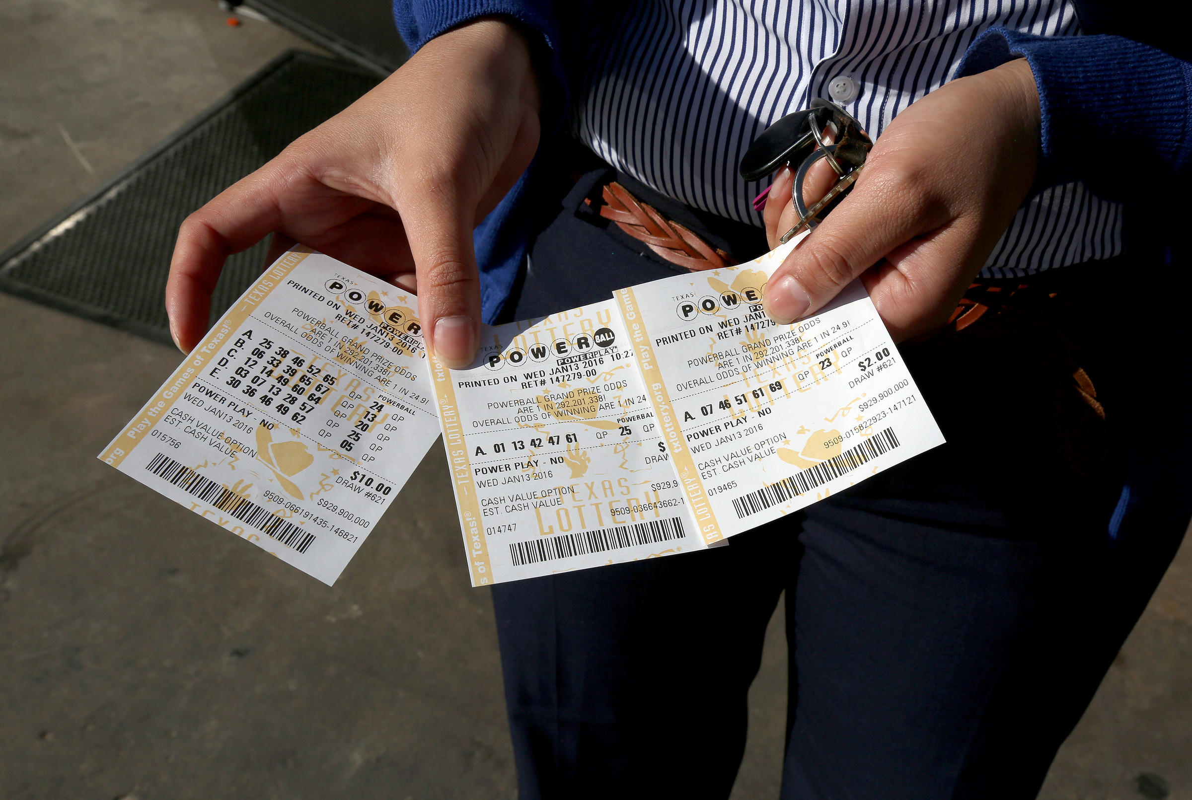 How much money goes to education from lottery