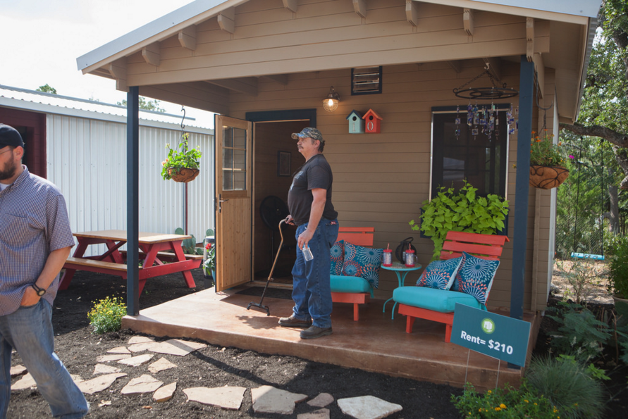 Opening Ceremony Of New Community First Village Tiny Homes In Austin 2014