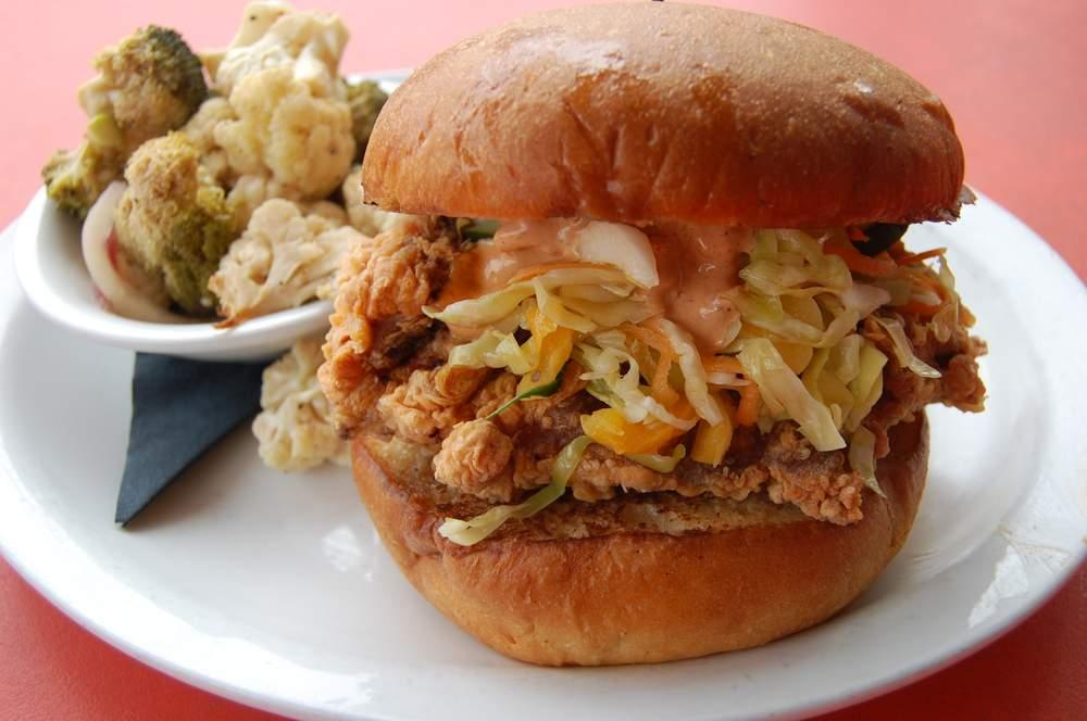 You might love these fried chicken sandwiches kut for American cuisine austin