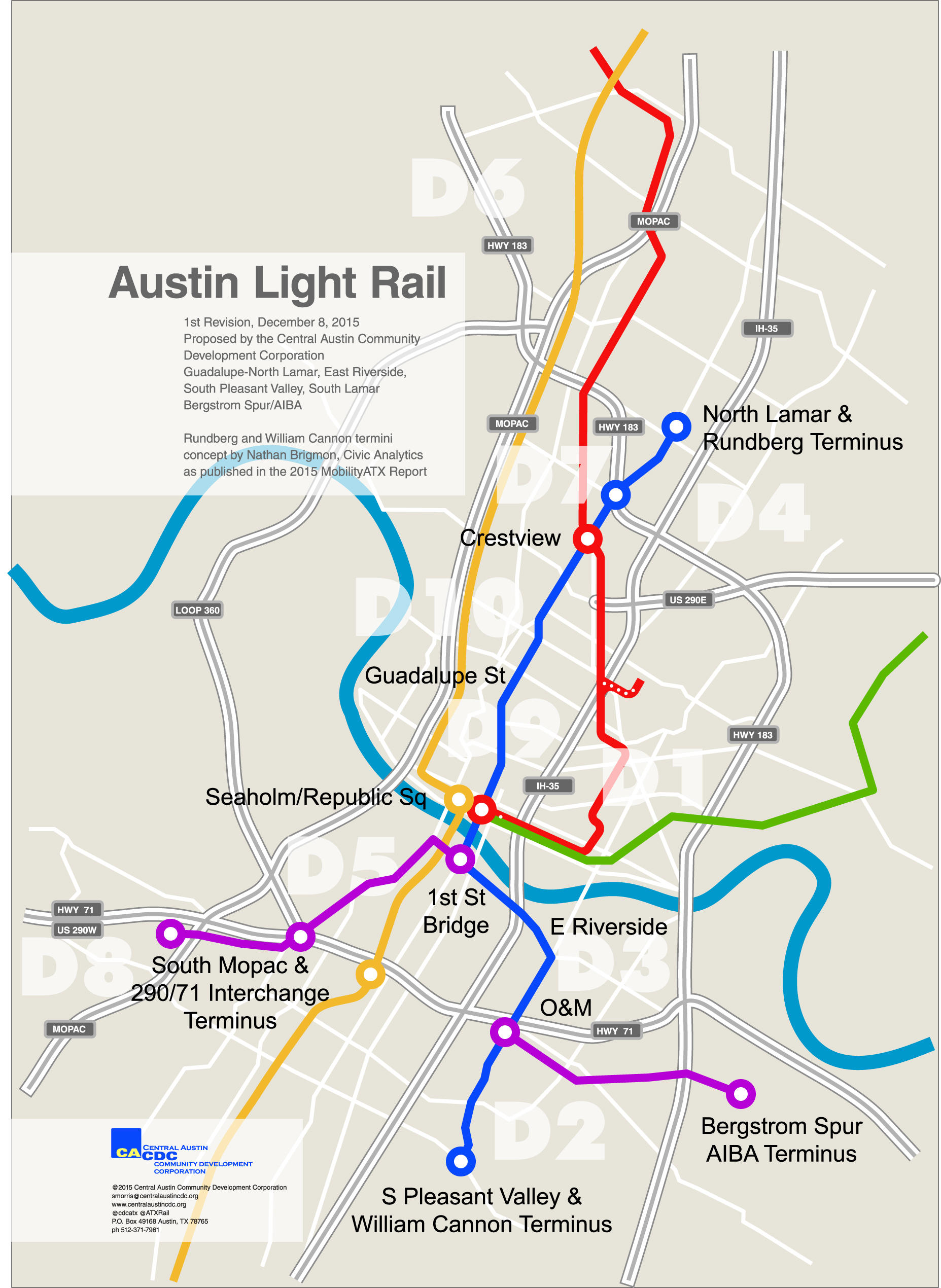 Light Rail Proposal Joins Mobility Bond Discussion KUT