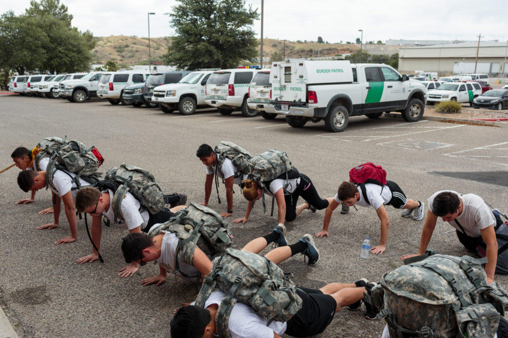 border patrol youth program trains children as young as 14 to become
