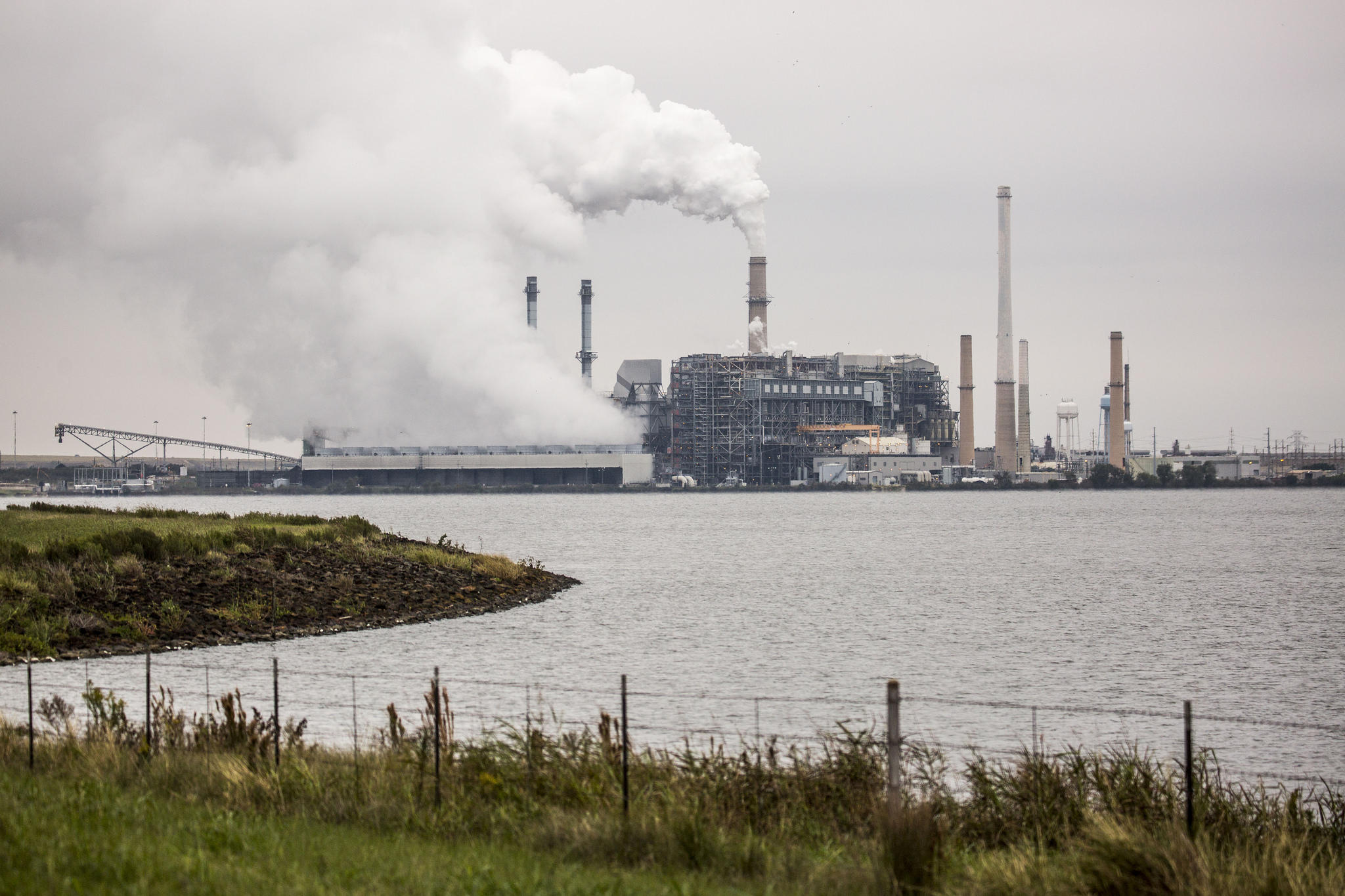 The Sandow Plant Outside Rockdale Is One Of Three Coal Plants In Texas Slated To Close Next Year