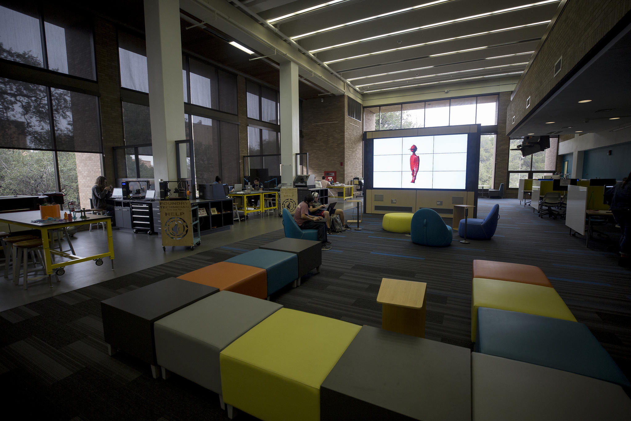 The Foundry Is UT Austinu0027s First Makerspace Library.