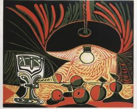 Picasso woodcut