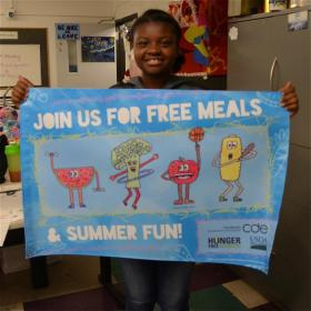 13 year old Jalia H. won the 2014 poster contest through Boys & Girls Clubs of Metro Denver