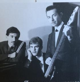An early BT trio. L-R: Bobby Trujillo, Gary Kennell, Paul Branch