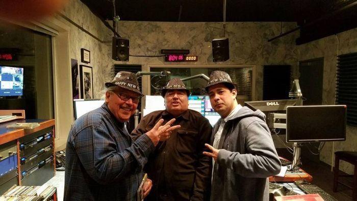 Danny V (aka MC Cuervo), Jammin Joe Serna & (Jedi) George Murad