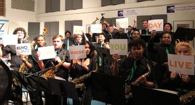 The Overland High School Jazz Band