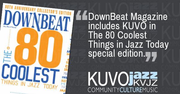 80th Anniversary edition of DownBeat Magazine