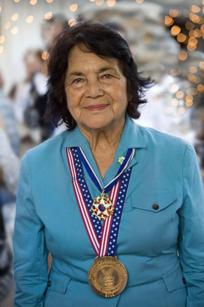 the life and contributions of the american labor leader dolores huerta Dolores huerta's path to becoming one of the us's most prominent mexican-american labor activists began at an early age growing up in the 1930s to a working class mexican.