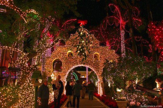 mission inn festival of lights begins friday in downtown riverside - Mission Inn Christmas