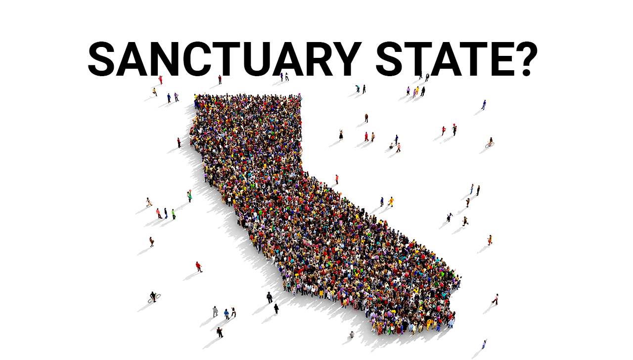 Image result for jerry brown sanctuary state