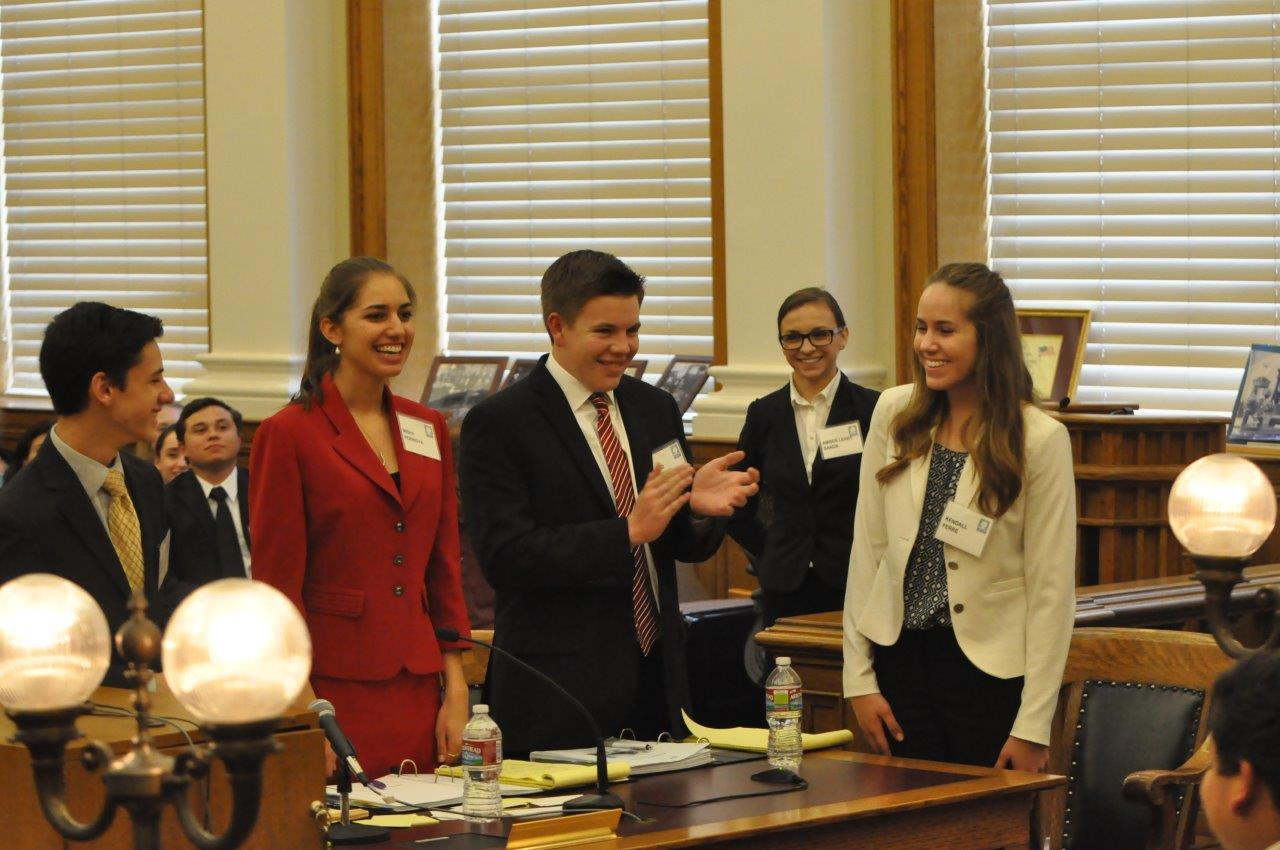 RivCo High School Students Go To Next Round Of Mock Trial Competition