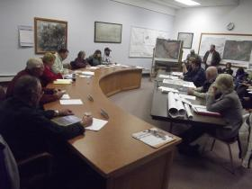 BLM staff visits the Hotchkiss Town Council.