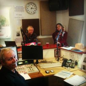 Dedicated KVNF volunteers on-air and taking your pledges!