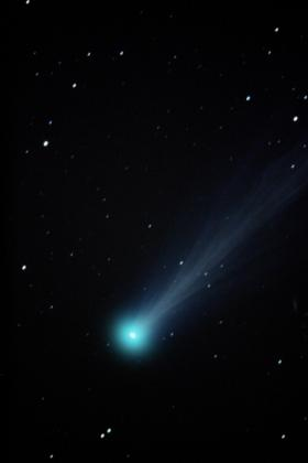 "Comet ISON, captured on 11/15/13 with a 12.5"" telescope and camera."