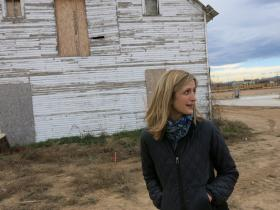 Kristin Kirkpatick, is in charge of leasing space in Bucking Horse's commercial area. She says agriculture and food production are the big draws to the development.