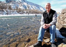 Eric Kuhn, General Manager of the Colorado River Water Conservation District based in Glenwood Springs. Kuhn will be speaking at the Food & Farm Forum on the state's new water plan and other water-related issues.