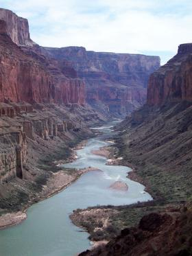 The Colorado River in Marble Canyon