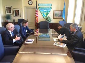 North Fork Delegates in Washington DC
