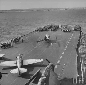 The USS Frankin, World War II
