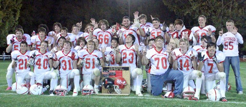 The Hotchkiss Bulldogs will retain the coveted North Fork Bowl trophy for the sixth consecutive year after rolling over Paonia last Friday, 39-6. The Bulldogs are now in second place in the 1A Western Slope League.