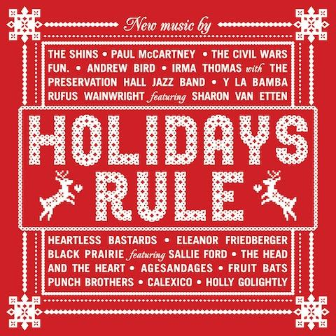 "<font color=""red""><strong>Various Artists/Holidays Rule/Hear Music,/strong></color><font color=""black""><br>In time for KVNF's Holiday Auction, 17 tunes from a variety of Artists & Genres to get you in the spirit!"