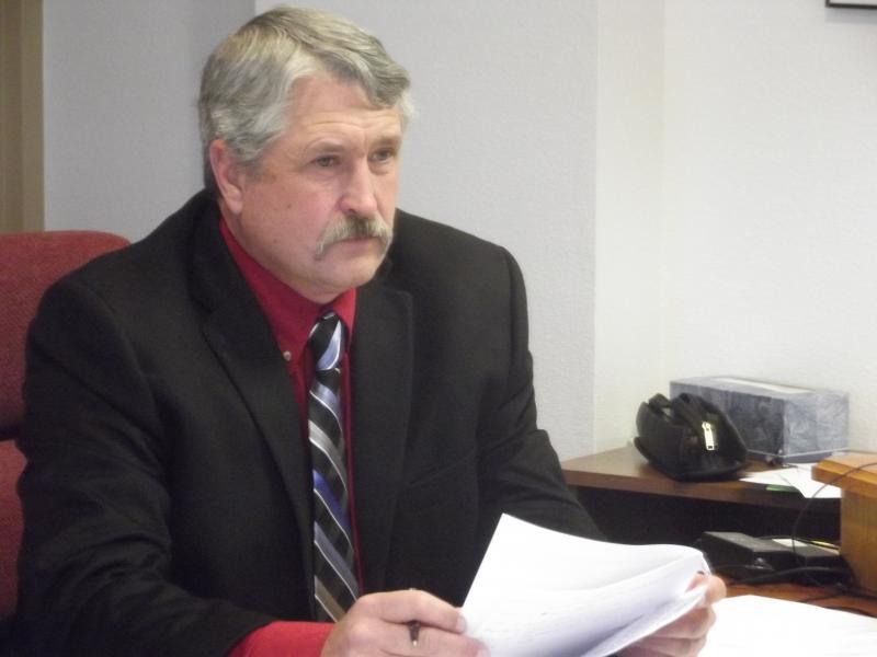 New Delta County Commissioner, Mark Roeber