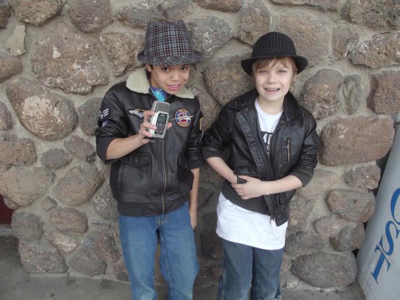 The reporters, Mason and Noah