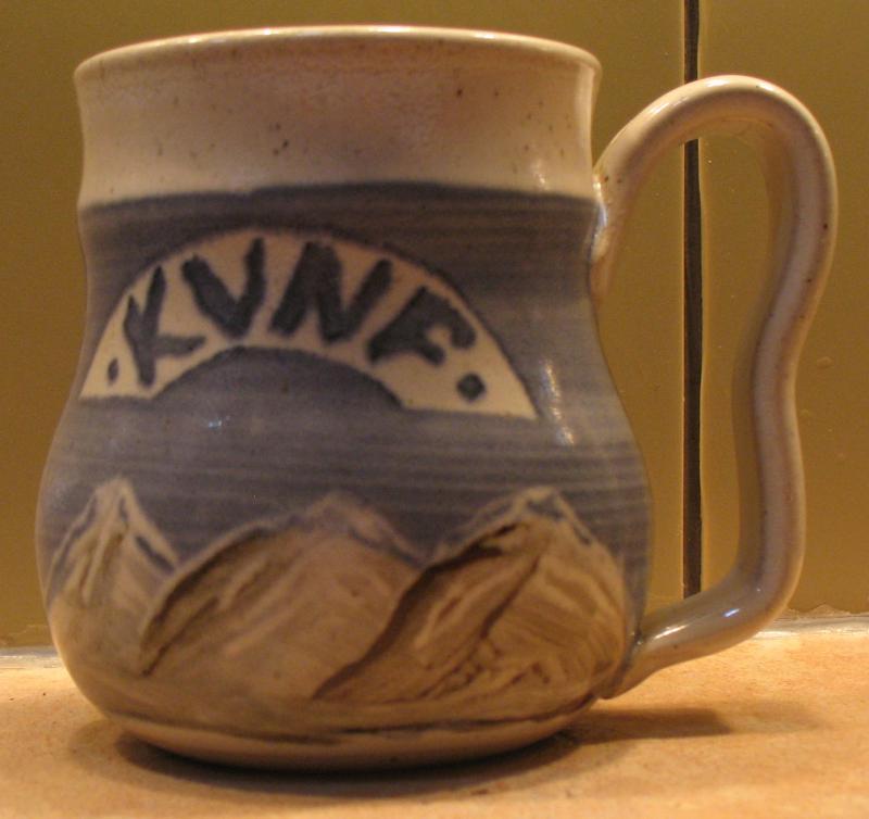 Tara Miller Clayworks mug for $100 donation