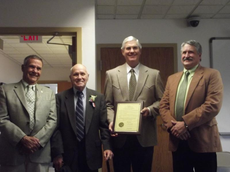 Delta County Commissioners honor O'Brien