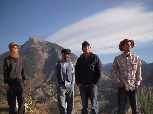 Sticky, Paul, David & Francois