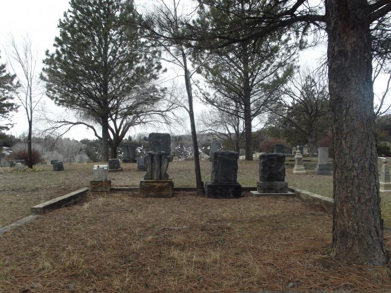 Both Bethlehem Cemetery (shown here) and Cedar Hill in Paonia allow burials without caskets.