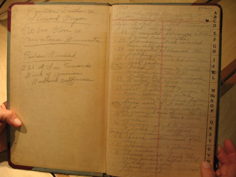 Beezley's journal