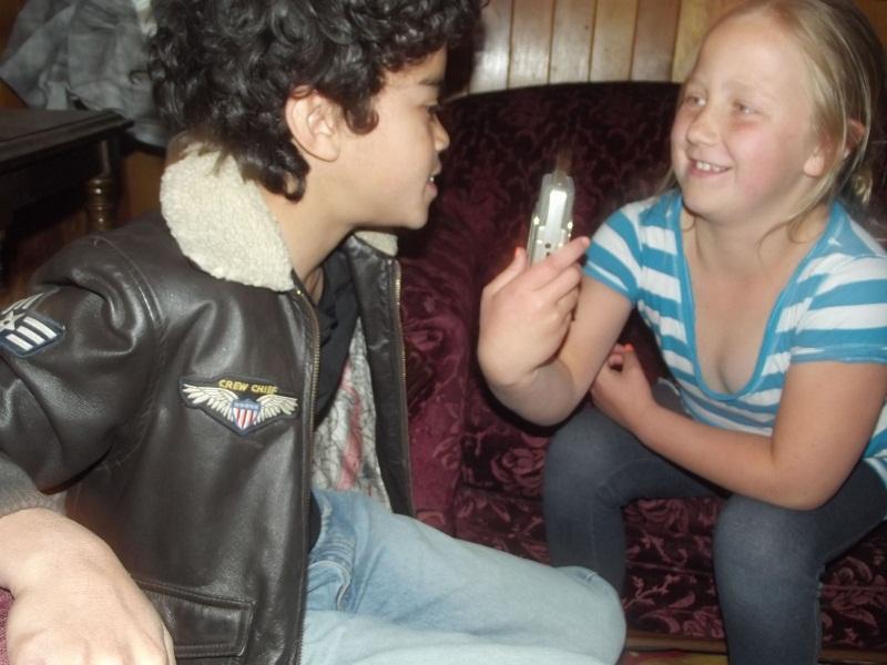 Liza with Noah McDaniel