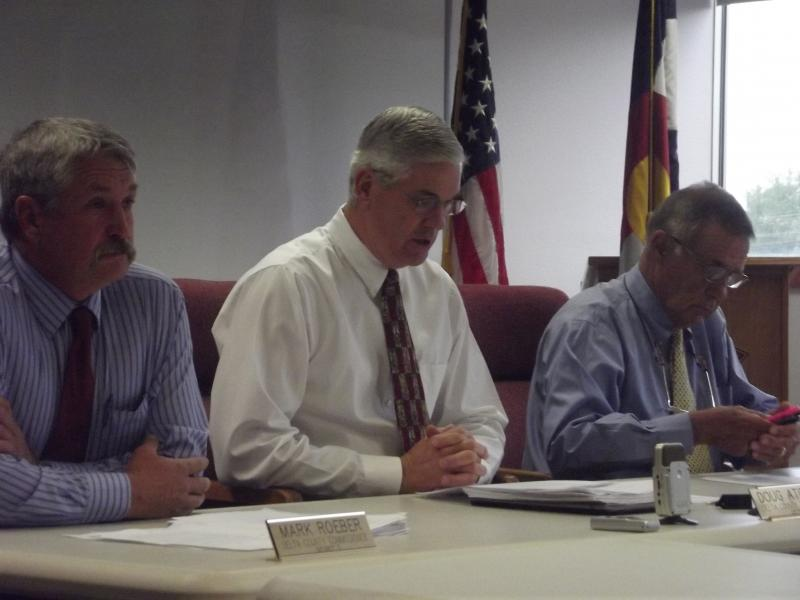 The three commissioners were in accord as usual, and reapproved the controversial facility.